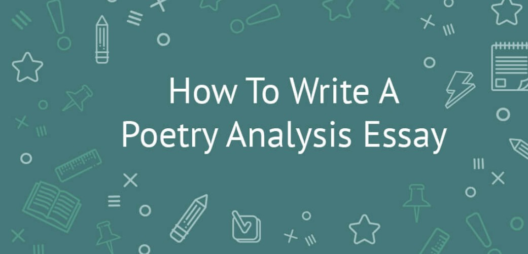 How to Write an Outline of a Poetry Essay Analysis